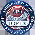 2020 America's Top 100 High Stakes Litigators